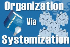 Organization via Systemization Benefits