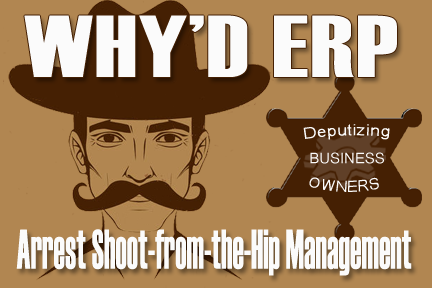 ERP arrest business disorder