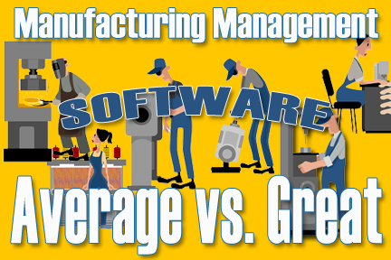 Small Manufacturing Management Software
