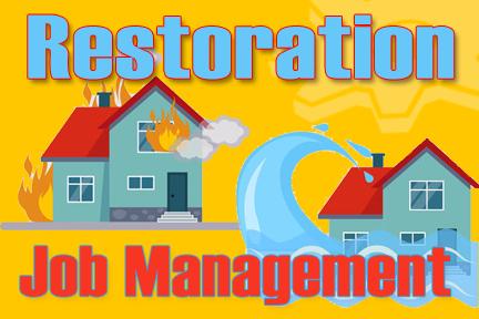 Restoration Job Management Software