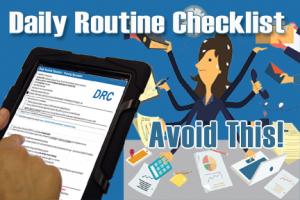 System100 Daily Routine Checklist