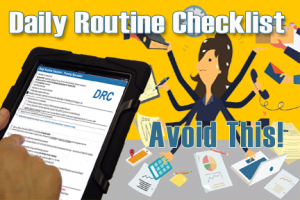 Employee Daily Routine Checklists