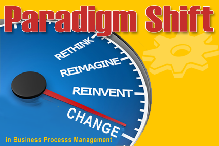 Paradigm Shift in business process management