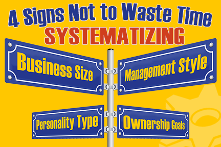 Waste Time Systematizing