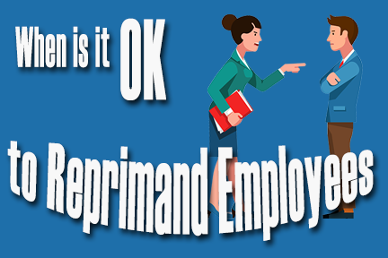 reprimand employees