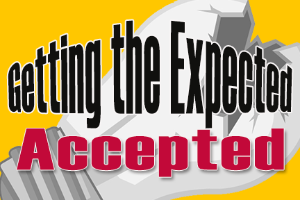 The Expected Accepted